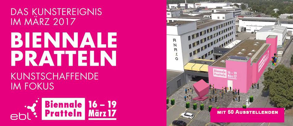 Biennale Pratteln 15.-19.März 2017